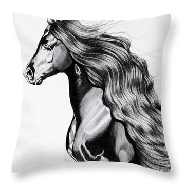 Into The Light Throw Pillow by Cheryl Poland