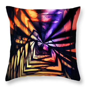 Into The Light Throw Pillow by Marianna Mills