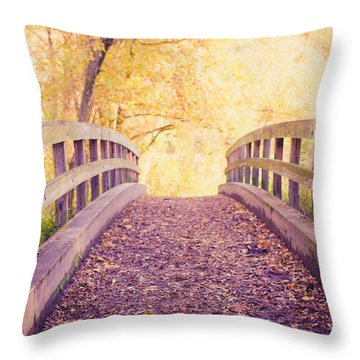 Into The Light Throw Pillow by Sara Frank
