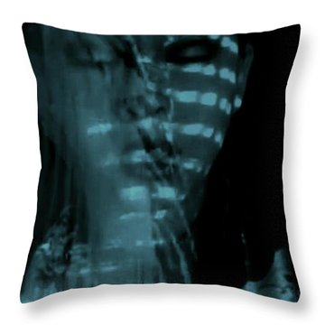 Throw Pillow featuring the photograph Into The Lull  by Jessica Shelton