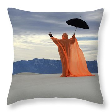 Into The Mystic 3 Throw Pillow by Bob Christopher