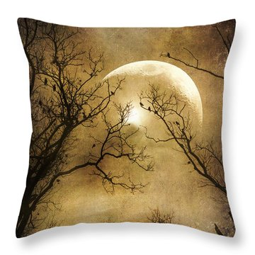 Throw Pillow featuring the photograph Into The Night by John Rivera