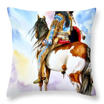 Into The Promised Land Throw Pillow
