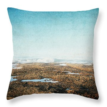 Into The Sea Throw Pillow by Lisa Parrish