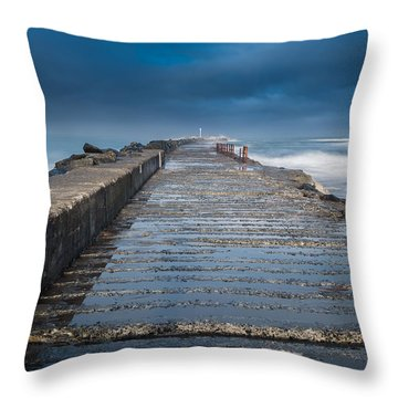 Into The Storm Throw Pillow by Greg Nyquist