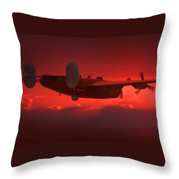 Into The Sun Throw Pillow by Mike McGlothlen