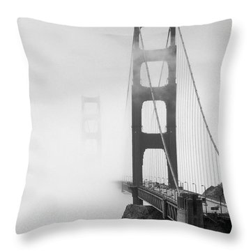 Into The Unknown Throw Pillow by Mike McGlothlen