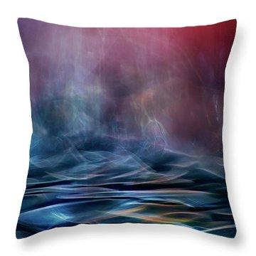 Blurred Throw Pillows