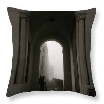 Into The Void 2 Throw Pillow