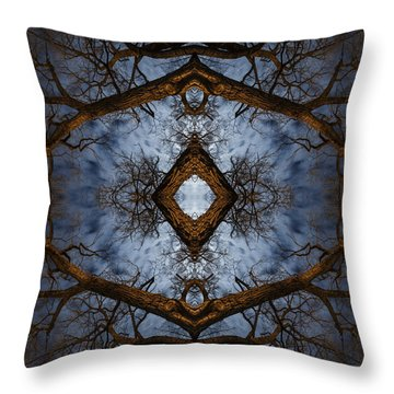 Intricate Eye In The Sky Throw Pillow