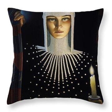 Intrigue Throw Pillow