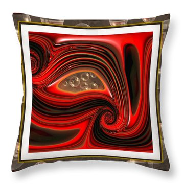 Introspection Throw Pillow by Wendy J St Christopher