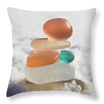 Intuition Throw Pillow by Barbara McMahon