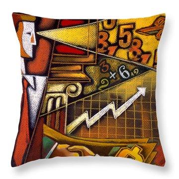 Investor Throw Pillow