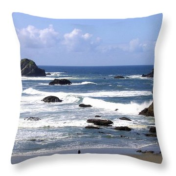 Invigorating Sea Air Throw Pillow