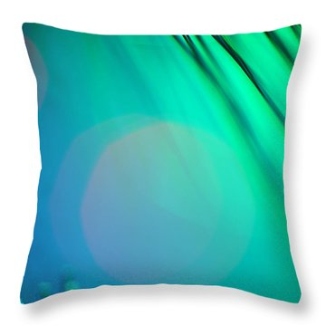 Invisible Sun Throw Pillow