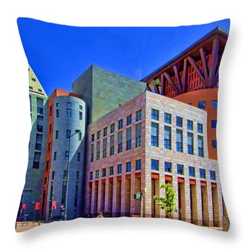 Invitation To Learn Throw Pillow