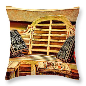 Invitation Throw Pillow by Wallaroo Images