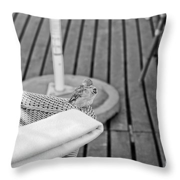 Invite Me To Your Table Throw Pillow