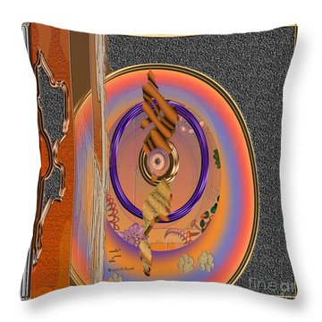 Inw_20a5661sq Washed Puma Stone Throw Pillow