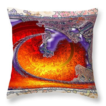 Inw_20a5930sz Droppings Throw Pillow