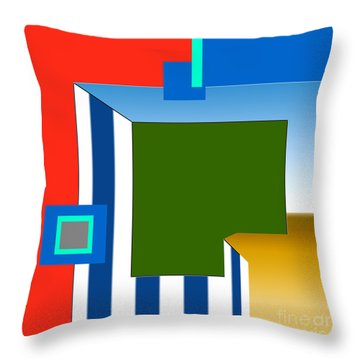 inw_20a5964 Beach plain Throw Pillow