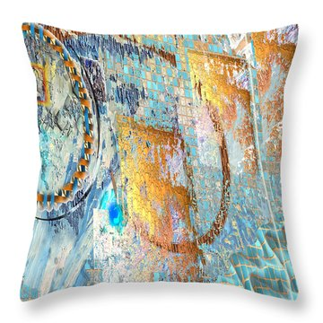 Inw_20a6022sz Ageless Glacial Memories Throw Pillow