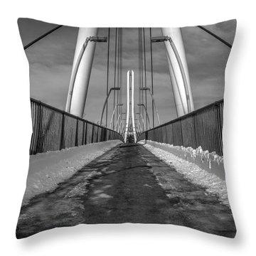 Ipfw Bridge Throw Pillow