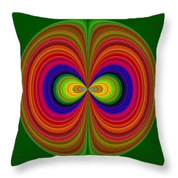 Throw Pillow featuring the photograph Ire by Larry Bishop