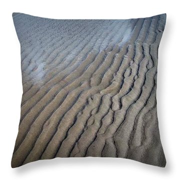Ireland Beach Throw Pillow by Tara Potts