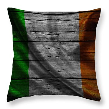 Flag Pole Throw Pillows