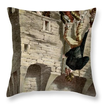 Ireland The Blarney Stone Throw Pillow by Granger