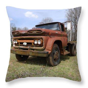 Irene's Viking  Throw Pillow