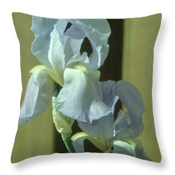 Iris 2 Throw Pillow by Andy Shomock