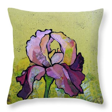 Iris IIi Throw Pillow