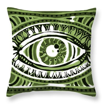 Irish Gypsi Throw Pillow