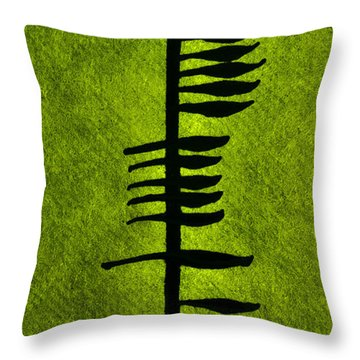 Irish Ogham Meaning Health Throw Pillow