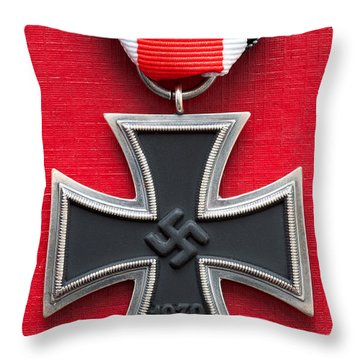 Iron Cross Medal Throw Pillow