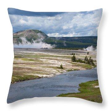 Iron Spring Creek Throw Pillow