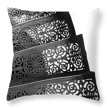 Iron Stairs Throw Pillow