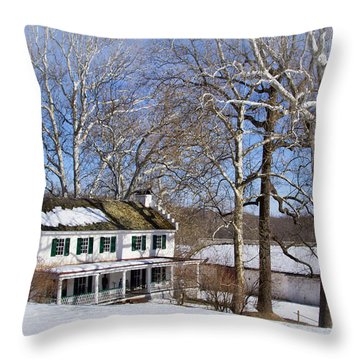 Ironmasters House Throw Pillow
