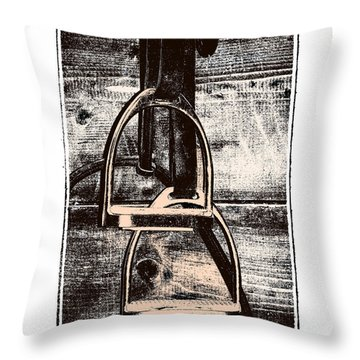 Irons Throw Pillow by JAMART Photography