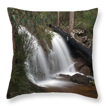 Ironstone Gully Falls 2 Throw Pillow