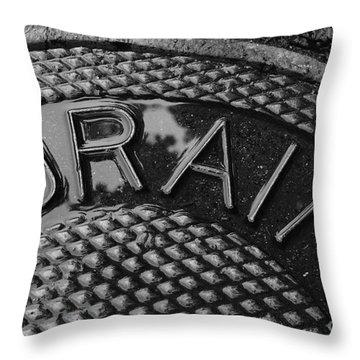Irony Throw Pillow by Luke Moore