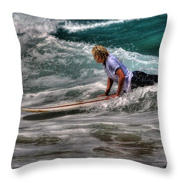 Throw Pillow featuring the photograph Is It The One? by Julis Simo