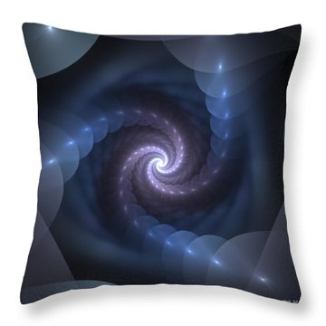 Throw Pillow featuring the digital art Is There A Light At The End Of The Tunnel? by Svetlana Nikolova