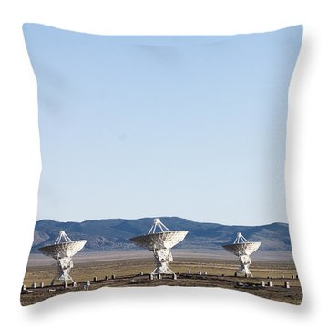 Is There Something Out There Throw Pillow by Steven Ralser