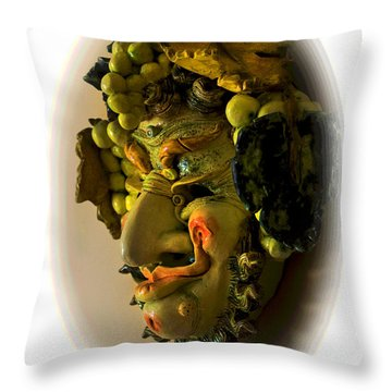 Is This Bacchus? Throw Pillow by Al Bourassa