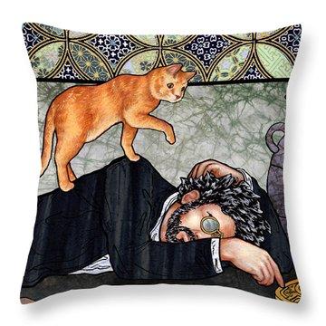 Isaac And Aryah Throw Pillow