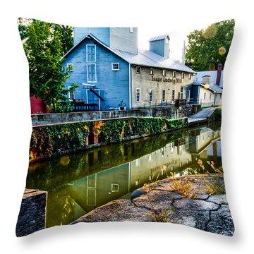 Isaac Ludwig Mill Throw Pillow
